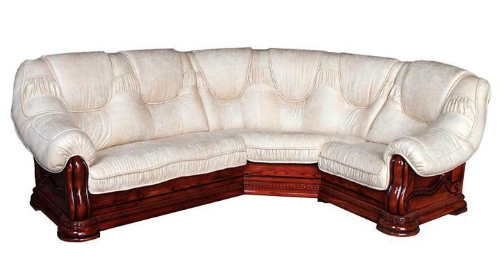 Кожаный угловой диван Гризли 340 - 3