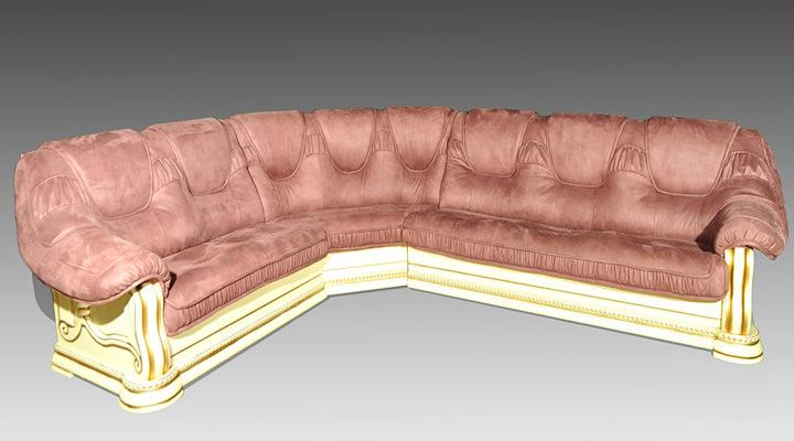 Кожаный угловой диван Гризли 340 - 7