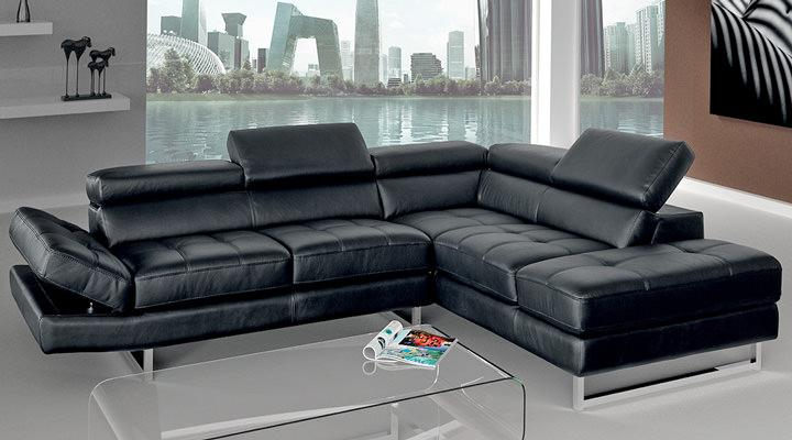 Кожаный угловой диван LN-1 (ЛН-1) - 3