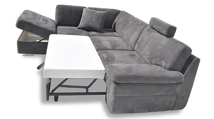 Кожаный угловой диван MON-1 (Мон-1) - 2