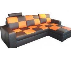 Кожаный угловой диван FX-10 B1 (Ф-Икс 10 Б1)
