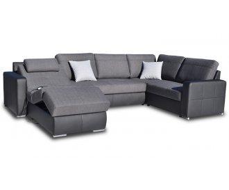 Угловой диван реклайнер FX-10 (Ф-Икс 10)
