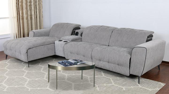 Угловой диван реклайнер Митчелл - 2