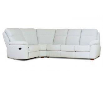 Кожаный угловой диван Алабама