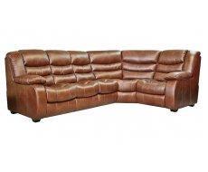 Кожаный угловой диван Эшли