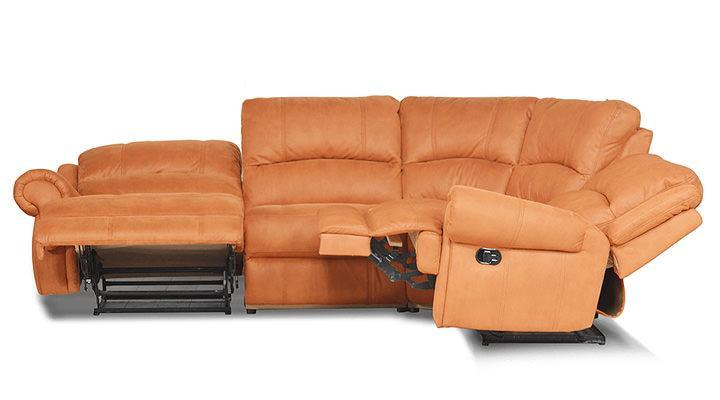 Кожаный угловой диван Сидней - 5