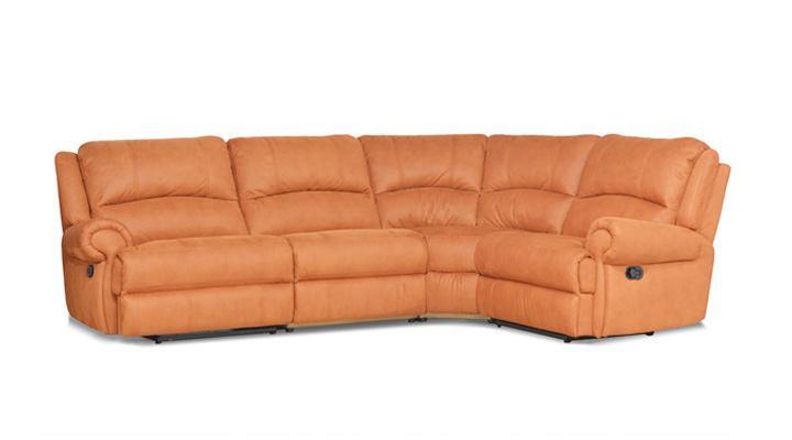 Кожаный угловой диван Сидней