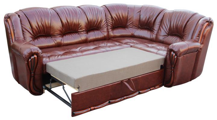 Кожаный угловой диван Галич - 2