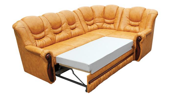 Кожаный угловой диван Князь - 2