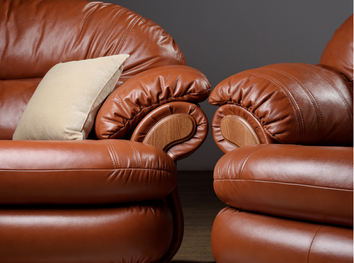Kожаный диван Орландо
