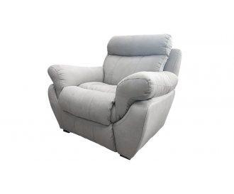 Кресло реклайнер Мидас серое