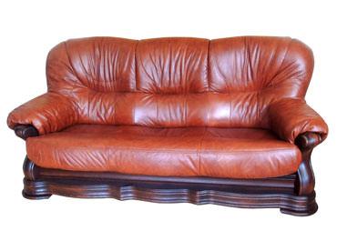 >Кожаный польский диван Senator